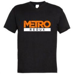 Купити Чоловіча футболка з V-подібним вирізом Metro Redux Logo c276e7141c90f