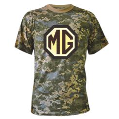 Камуфляжна футболка MG Cars Logo