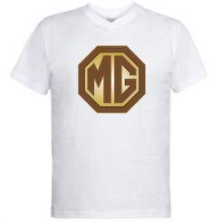 Чоловічі футболки з V-подібним вирізом MG Cars
