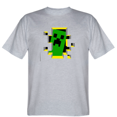 Футболка Minecraft 3D
