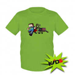 Детская футболка Minecraft Company