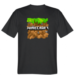 Футболка Minecraft Main Logo