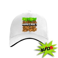 Детская кепка Minecraft Main Logo