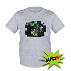 Детская футболка Minecraft Party