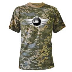 Камуфляжна футболка Mini Cooper