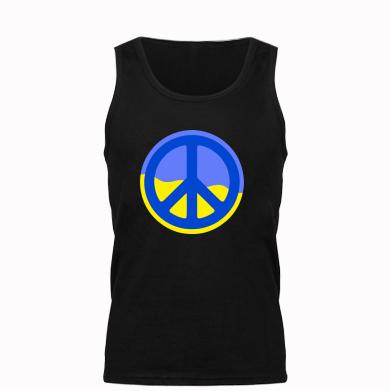 Мужская майка Мирная Украина