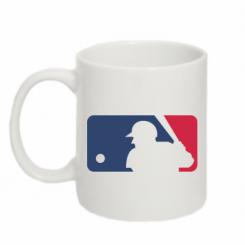 Купити Кружка 320ml MLB
