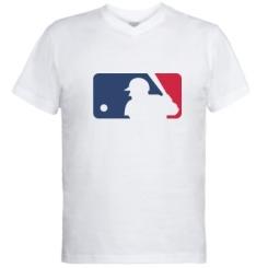 Купити Чоловічі футболки з V-подібним вирізом MLB