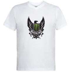 Купити Чоловічі футболки з V-подібним вирізом Monster Army