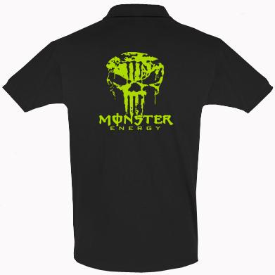 Купити Футболка Поло Monster Energy Череп