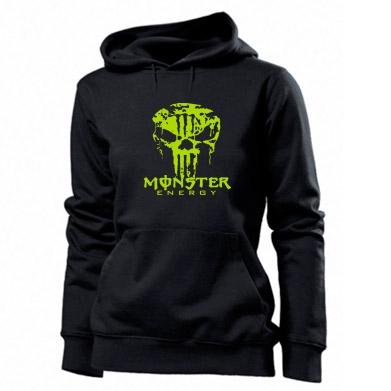 Купити Толстовка жіноча Monster Energy Череп