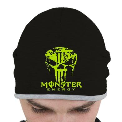 Купити Шапка Monster Energy Череп