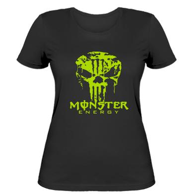 Купити Жіноча футболка Monster Energy Череп