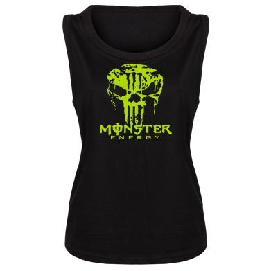 Купити Майка жіноча Monster Energy Череп