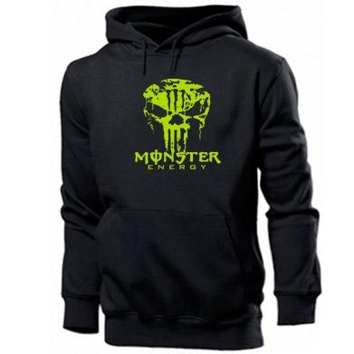 Купити Толстовка Monster Energy Череп