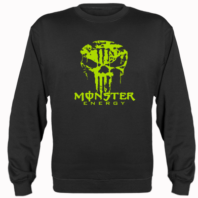 Купити Реглан Monster Energy Череп