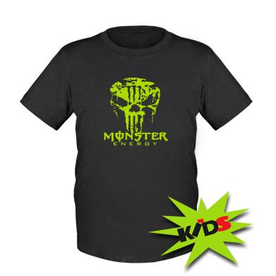 Купити Дитяча футболка Monster Energy Череп