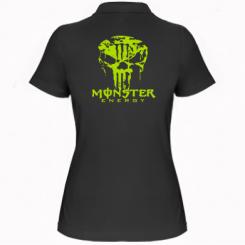 Купити Жіноча футболка поло Monster Energy Череп
