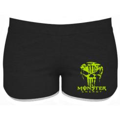 Купити Жіночі шорти Monster Energy Череп