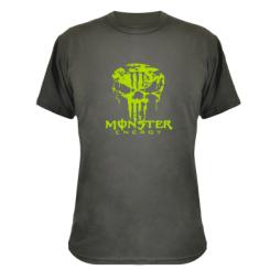 Купити Камуфляжна футболка Monster Energy Череп