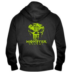 Купити Чоловіча толстовка на блискавці Monster Energy Череп