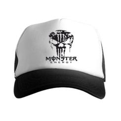 Купити Кепка-тракер Monster Energy Череп