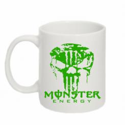 Купити Кружка 320ml Monster Energy Череп