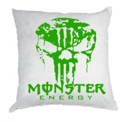 Купити Подушка Monster Energy Череп