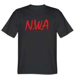 Футболка N.W.A Logo