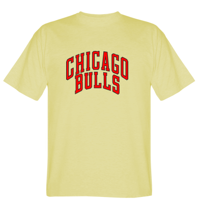 Футболка Напис Chicago Bulls