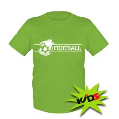 Дитячі футболки Футбол - купити в Києві 54e85130bd646