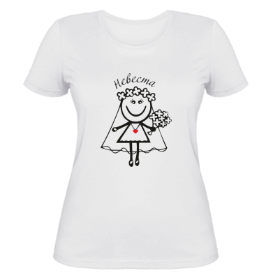 Жіноча футболка Наречена