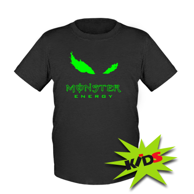 Детская футболка New Logo Monster