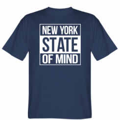 Футболка New York state of mind