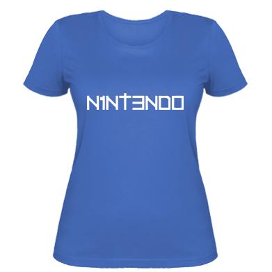 Купити Жіноча футболка Nintendo