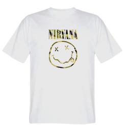 Футболка Nirvana camouflage