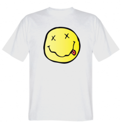 Футболка Nirvana Logo 3D