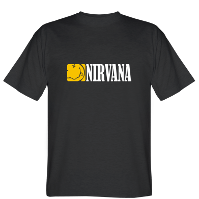 Футболка Nirvana смайл