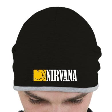Купити Шапка Nirvana смайл