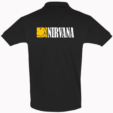 Купити Футболка Поло Nirvana смайл