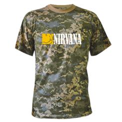 Купити Камуфляжна футболка Nirvana смайл
