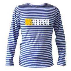 Купити Тільняшка з довгим рукавом Nirvana смайл