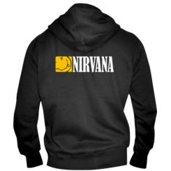 Купити Чоловіча толстовка на блискавці Nirvana смайл