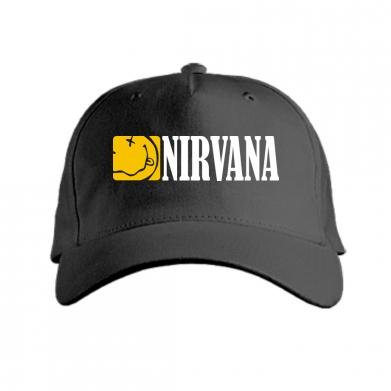 Купити Кепка Nirvana смайл