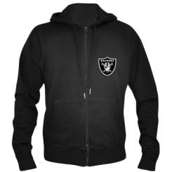 Купити Чоловіча толстовка на блискавці Oakland Raiders