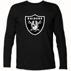 Купити Футболка з довгим рукавом Oakland Raiders