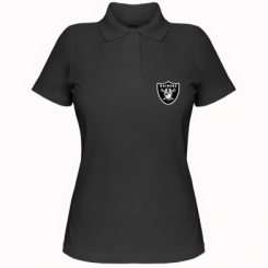 Купити Жіноча футболка поло Oakland Raiders
