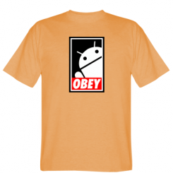 Футболка Obey Android