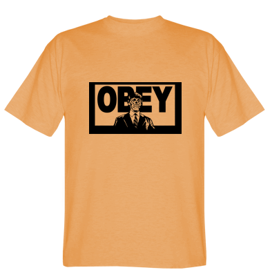 Футболка Obey в костюмі