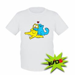 Дитяча футболка Обнімашкі кольорові